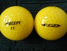 "20 PRECEPT  ""XP3"" - ""YELLOW PEARLISED"" -Golf  Balls- ""MINT/PEARL""Grades."