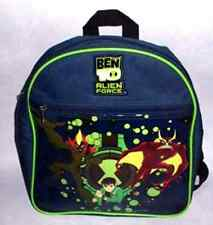 6 X BOYS BEN 10 ALIEN FORCE BACKPACK BAG WHOLESALE JOB LOT MARKET CAR BOOT SALE