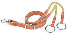 Weaver Harness Leather Training Fork With Rubber Working New Horse Tack