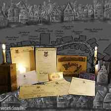 MEGA PACK Harry Potter STUNNING! Letters, ticket, map, Diagon Alley, Yule Ball!