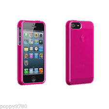 New High Gloss Silicone Case Skin Protective Cover For Apple iPhone 5 & 5S Pink