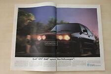 VW Golf II GTi G60 syncro - Anzeige/Werbung