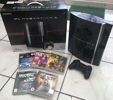40gb PS3 Console Boxed -Complete With 5 Games Official UK Bundle (Playstation 3)