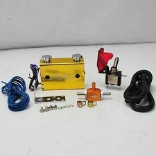 DUAL STAGE SETTING W/ ROCKET SWITCH TURBO WASTEGATE BOOST CONTROLLER GOLD