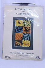 Floral Wall Hanging Tapestry Needlepoint Kit  K4222 Royal School of Needlework