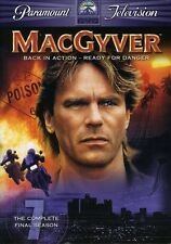 MacGyver: The Complete Final Season 7 [4 Discs] (2006, DVD NIEUW)4 DISC SET