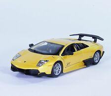 TC27 Lamborghini LP 670-4 MURCIELAGO SV 1:24 1/24 Yellow Diecast Model Model Car