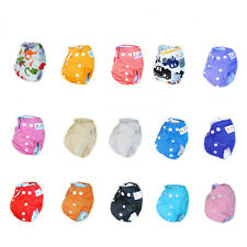 20 Alva Sweet Newborn Nappy Baby Reusable Washable Snaps Cloth Diaper+ 20 insert