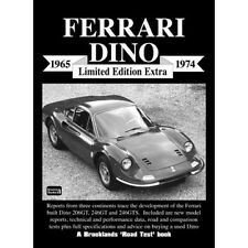 Ferrari Dino Limited Edition Extra 1965-1974 book paper