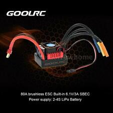 GoolRC S-80A Brushless ESC + 6.1V/3A SBEC for 1/8 RC Car Y3M0