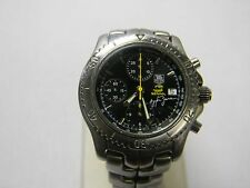 Tag Heuer Link Ayrton Senna Limited CT2115 Chronograph Automatic Mens Watch