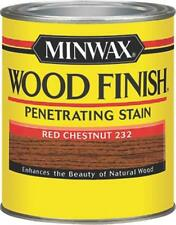 NEW MINWAX 22320 RED CHESTNUT INTERIOR OIL BASED WOOD FINISH STAIN 2184893