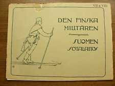 Russian Finnish Army Album Parts VII VIII 1902 7th & 8th Battalions Photos