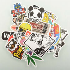 50pcs Skateboard Vintage Vinyl Laptop Luggage Car Decals Dope Stickers Mix Lot
