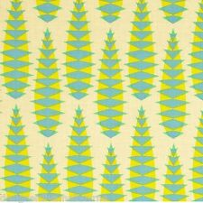 OOP Pretty Potent Aloe Vera in Lime by Anna Maria Horner quilting fabric