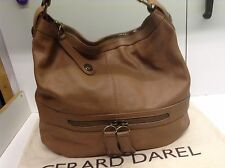 TTBE - Sac gerard darel st germain Midday Midnight 36h Grand En Cuir Camel
