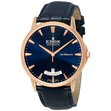 Edox Les Bemonts Automatic Mens Watch 83015 37R BUIR