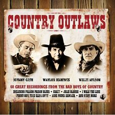 COUNTRY OUTLAWS - JOHNNY CASH - WAYLON JENNINGS - WILLIE NELSON - NEW SEALED3CD