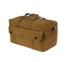 Rothco Heavy Canvas G. I. Type Mechanic Tool Gear Bag Coyote Brown