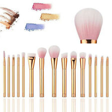 15pcs Makeup Brushes Set Powder Foundation Eyeshadow Eyeliner Lip Brush Tool