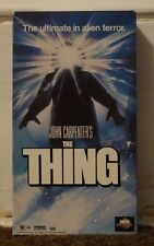 The Thing Rare & OOP John Carpenter Horror Movie MCA Universal Home Video VHS