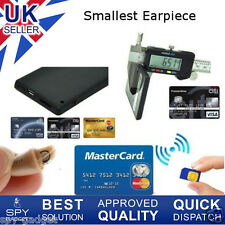 Spy Earpiece Bluetooth & GSM Card Mini Earphone Invisible Wireless Transmiter