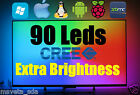 90 RGB CREE Leds LightPack clone USB kit TV Backlight Ambilight Boblight PC XBMC