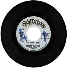 """GEORGE NARDELLO  """"THE WAY I FEEL c/w THAT LUCKY OLD SUN""""  NORTHERN SOUL  LISTEN!"""