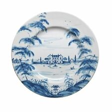Juliska Country Estate DELFT BLUE DINNER PLATES  SET OF FOUR