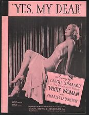 Yes My Dear 1933 White Woman Carole Lombard