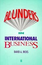 David Ricks - Blunders In International Busi (1994) - Used - Trade Paper (P