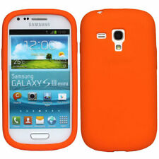 Soft Gel Grip Rubber Silicone Case Cover for Samsung Galaxy S3 Mini i8190 S III