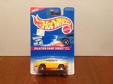 Hot Wheels '55 Chevy #410 Splatter Paint Series 1996 Yellow 1955 w/ Saw Blades
