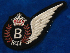 vintage Canada RCAF Royal Canadian Air Force BOMB AIMER chest wing badge WW2