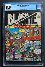 BLACK AND WHITE COMICS #NN ROBERT CRUMB 1973 APEX Underground 1st Print CGC 8.0