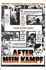 After Mein Kamph Poster 01 A3 Box Canvas Print