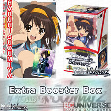 The Melancholy of Haruhi Suzumiya Weiss Schwarz Extra Booster 6Pack BOX
