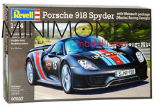KIT PORSCHE 918 WEISSACH SPORT MARTINI RACING DESIGN 1/24 REVELL 07027 7027