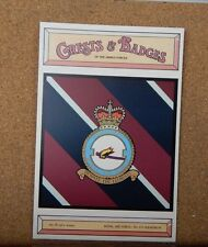 Royal Air force No 115 Squadron Crests & Badges of  the Armed services Postcard