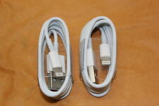X2 TWO IPHONE 5 5C 5S IPHONE 6 6S 6S PLUS IPHONE 7 USB LIGHTNING CHARGER CABLE o