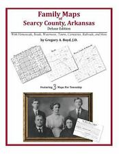 Family Maps of Searcy County, Arkansas, Deluxe Edition : With Homesteads,...