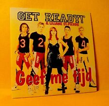 cardsleeve single CD GET READY & LILIANE ST. PIERRE Geef Me Tijd 2TR '97 europop
