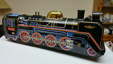 MODERN TOYS JAPAN VINTAGE TINPLATE BATTERY OPERATED TOY TRAIN