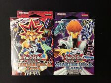 YUGIOH YUGI & KAIBA RELOADED STARTER DECK SET UNLIMITED EDITION FREE SHIPPING