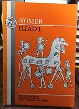 Bristol Classical Greek Texts: Homer - Iliad I by Homer (1991, Paperback)