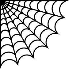 """Corner Spider Web 8"""" Vinyl Decals Stickers Car Truck Window set of 2"""
