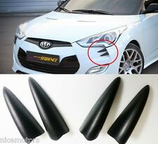 Sequence Devil Claw Bumper Molding 4EA For Hyundai Veloster Turbo 2012 2016