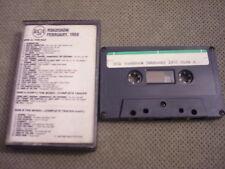 RARE PROMO RCA Roadshow 1988 CASSETTE TAPE Guess Who WHODINI Rick Springfield +