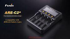 Fenix ARE-C2+ 4-fach Akku-Ladegerät Multi-Charger für u.a. 18650 AA AAA C 26650