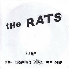 "RATS, THE Liar 7"" Vinyl (1998 Empty) Neu"